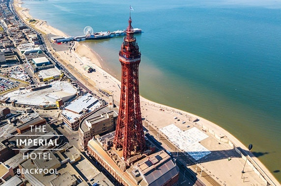 4* Blackpool Promenade stay - from £65