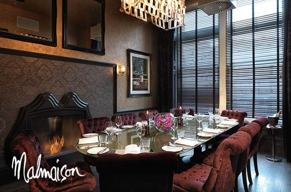 Malmaison private dining from £24pp