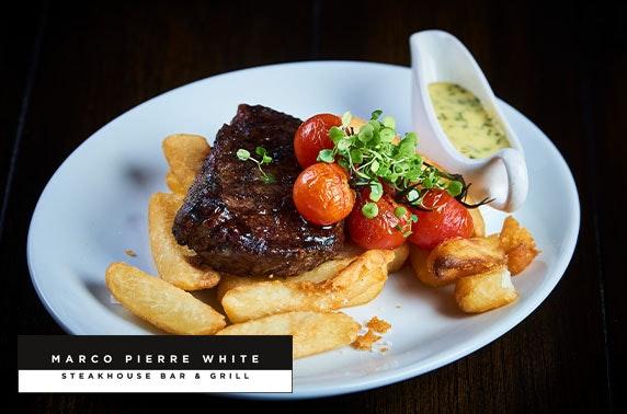 Marco Pierre White steak dinner, 4* Hotel Indigo Durham
