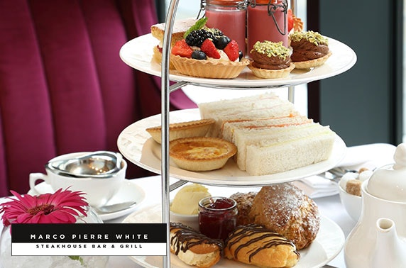 Marco Pierre White afternoon tea