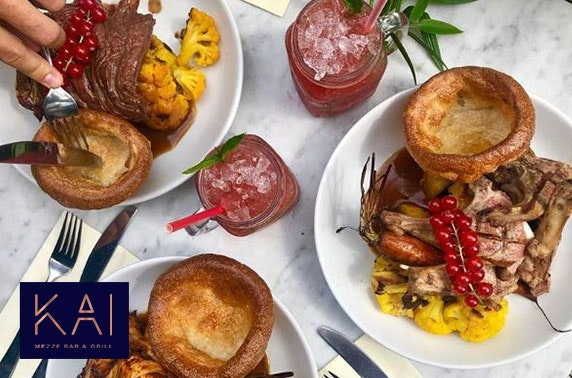 Sunday roast & drinks, House of Kai