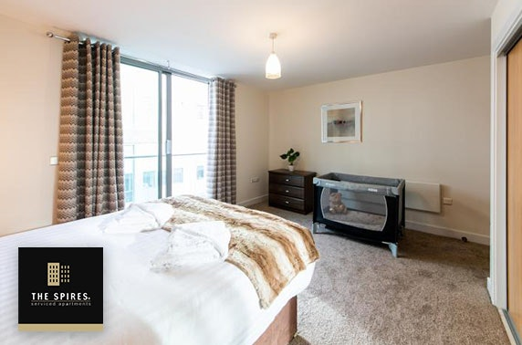 Birmingham City Centre apartment stay - from £25pppn