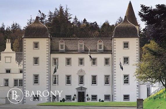 Barony Castle getaway, Peebles
