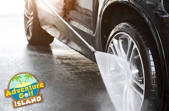 Car wash and valet – from £5