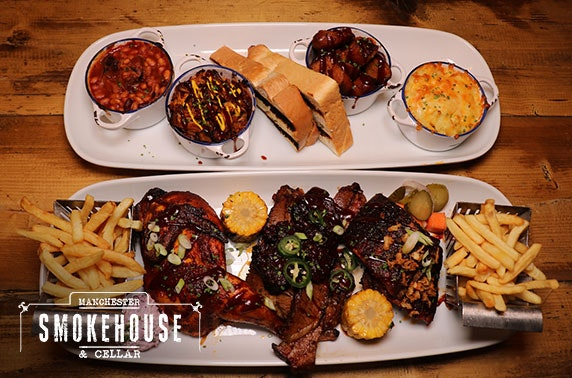 Manchester Smokehouse dining- from £6pp