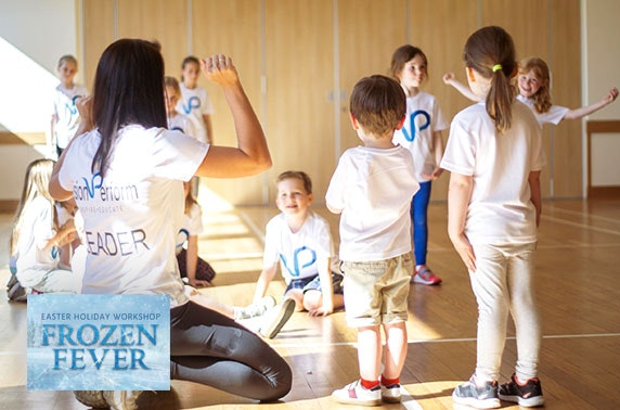 Frozen themed Easter holiday performing arts workshop