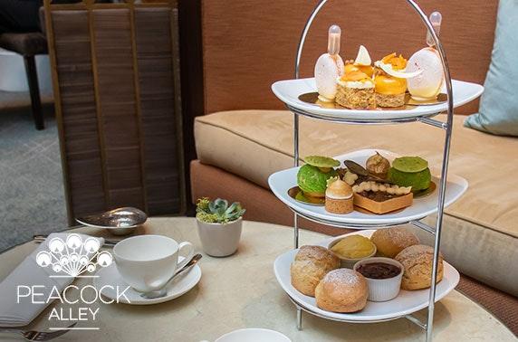 5* Waldorf Astoria luxury afternoon tea & drinks