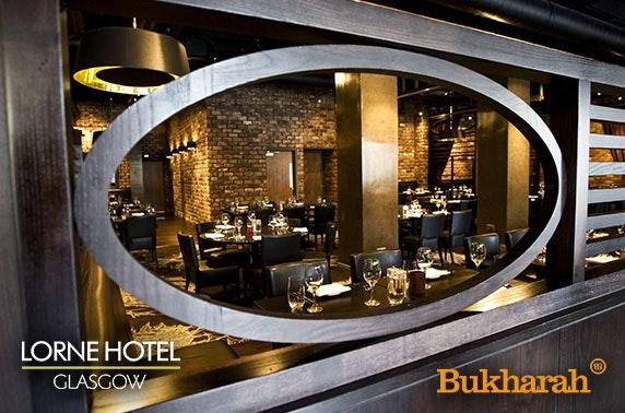 Bukharah curry, Lorne Hotel Finnieston - valid 7 days