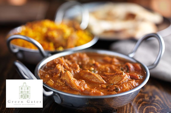 Newly-opened Green Gates Cafe Indian dining, Merchant City - from £6pp