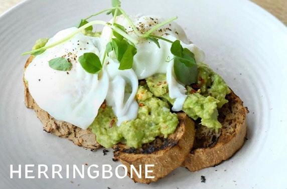 Herringbone Bar & Restaurant breakfast