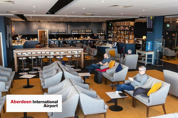 Aberdeen Airport lounge access & priority security
