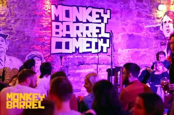 Saturday night comedy show, Monkey Barrel Comedy