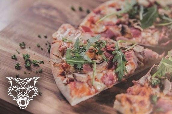 Wolf Italian Street Food pizzas, Spinningfields