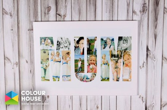 Personalised Mum collage canvas