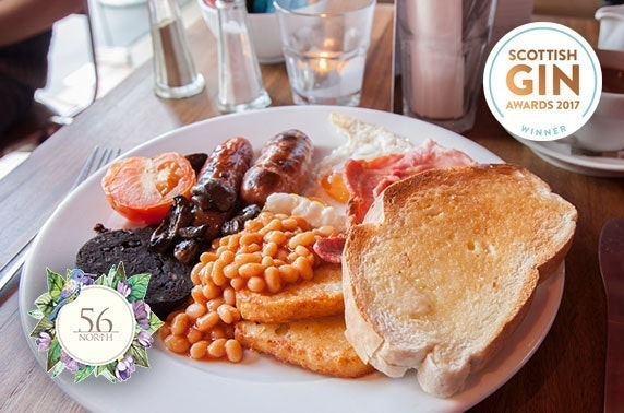 56 North brunch with cocktails or Prosecco - from £6pp