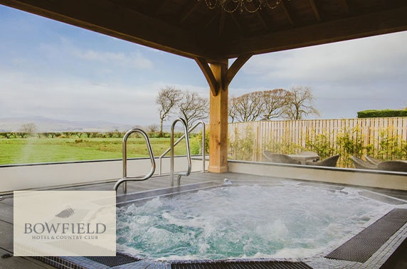 Bowfield Hotel Twilight spa experience & dinner