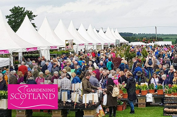 Gardening Scotland tickets, Royal Highland Centre