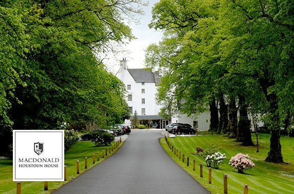 4* Macdonald Houstoun House Hotel stay - valid 7 days!