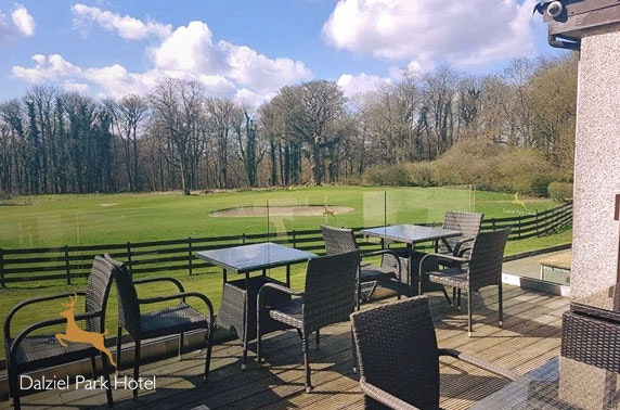 Golf and optional dining at Dalziel Park Hotel & Golf Club