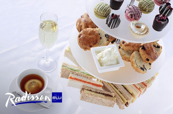 4* Radisson Blu Prosecco afternoon tea - valid 7 days!