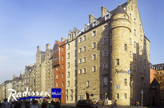 4* Radisson Blu afternoon tea, Royal Mile