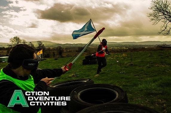 Combat archery, Stirlingshire