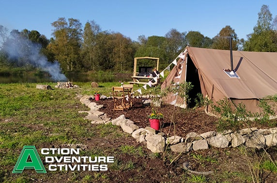 Glamping & activity adventure break, Stirlingshire