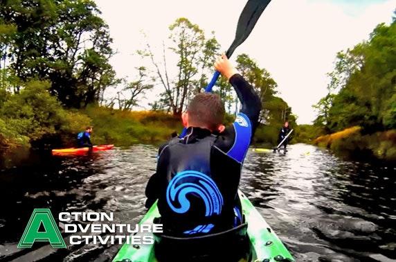 Glamping & activity adventure break, Stirlingshire