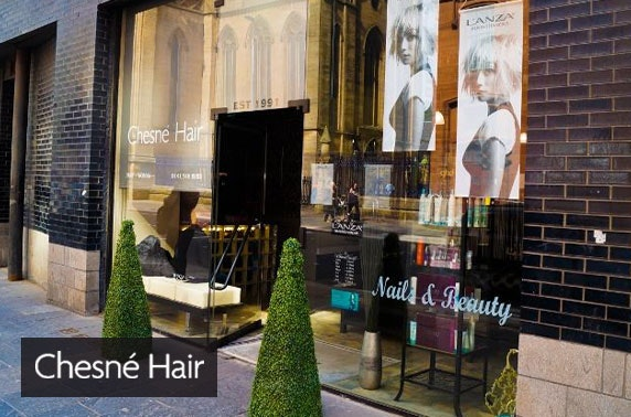 Award-winning Chesne Hair treatments, Merchant City