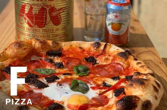 F Pizza dining, Milngavie