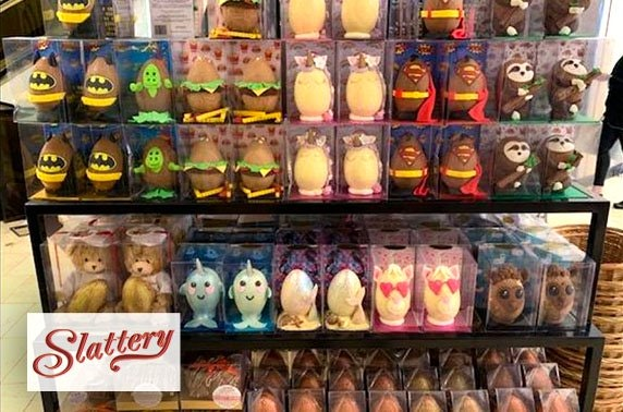 Slattery personalised Easter box - from £6 per box