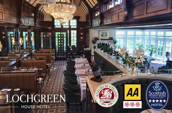 5* Lochgreen House Hotel, Troon - valid 7 days!