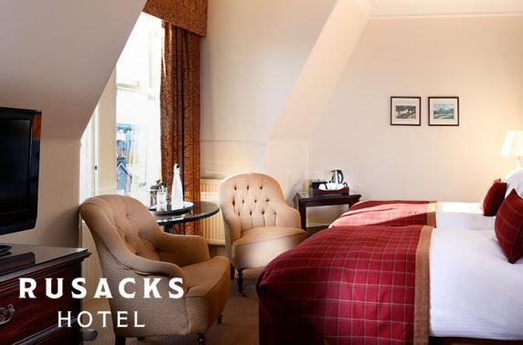 The Rusacks Hotel stay, St Andrews