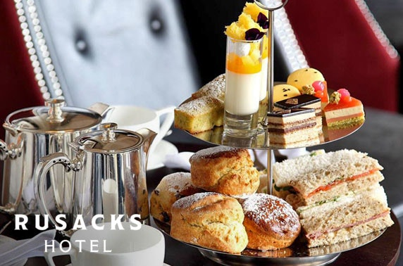 The Rusacks Hotel cream or afternoon tea