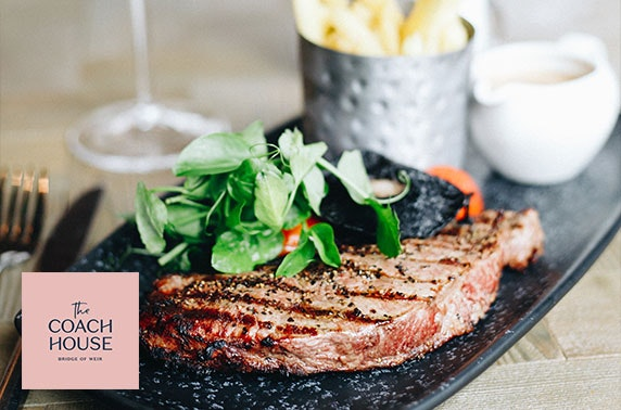 The Coach House dining - valid 7 days!