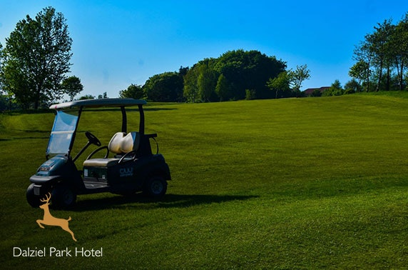 Golf and optional dining at Dalziel Park Hotel & Golf Club