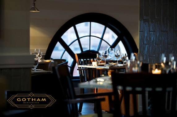 5* Hotel Gotham dining and martini butler