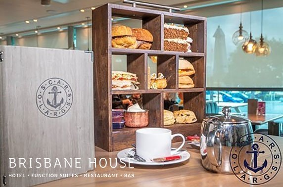 Brisbane House Hotel afternoon tea
