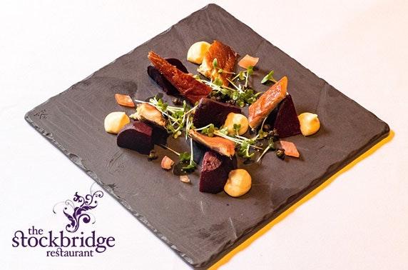2 AA Rosette The Stockbridge Restaurant dining