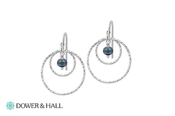 Dower & Hall pearl drop earrings