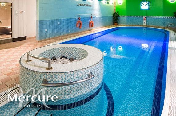Mercure Ayr Hotel seaside stay - valid until May 2021