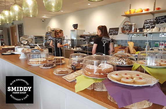 Blair Drummond Smiddy Café  voucher spend