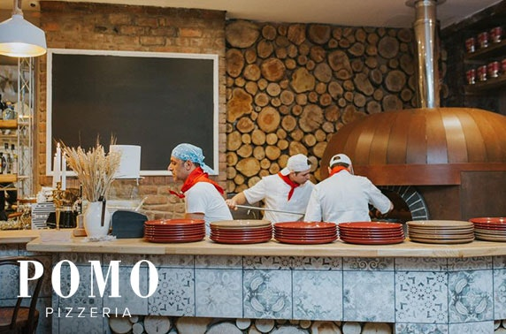 Newly-opened Pomo Pizzeria - from £5pp