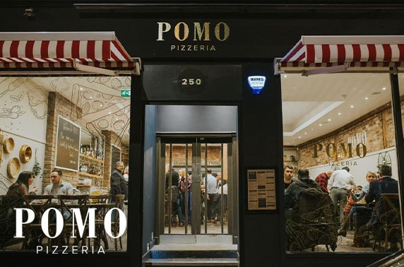 Newly-opened Pomo Pizzeria lunch or dinner voucher