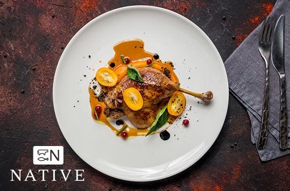 Two courses or steaks at Hilton Garden Inn, City Centre