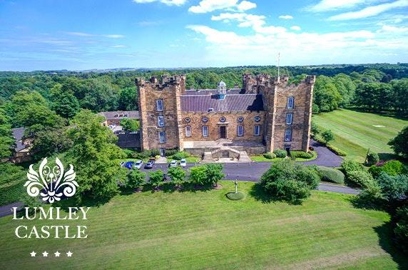 4* Lumley Castle getaway