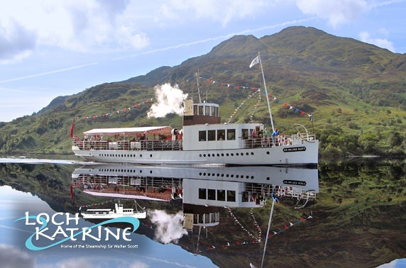Loch Katrine lodge stay & cruise - from £22.50pppn