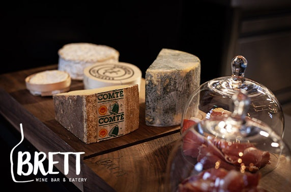 Bar Brett wine tasting with charcuterie & cheese