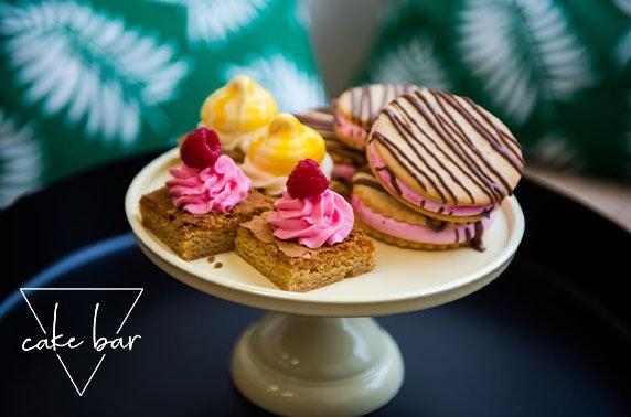 Cake Bar coffee and cake - £3