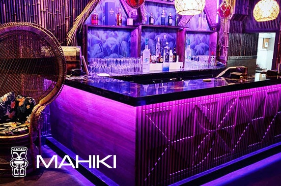Mahiki, Manchester drinks package